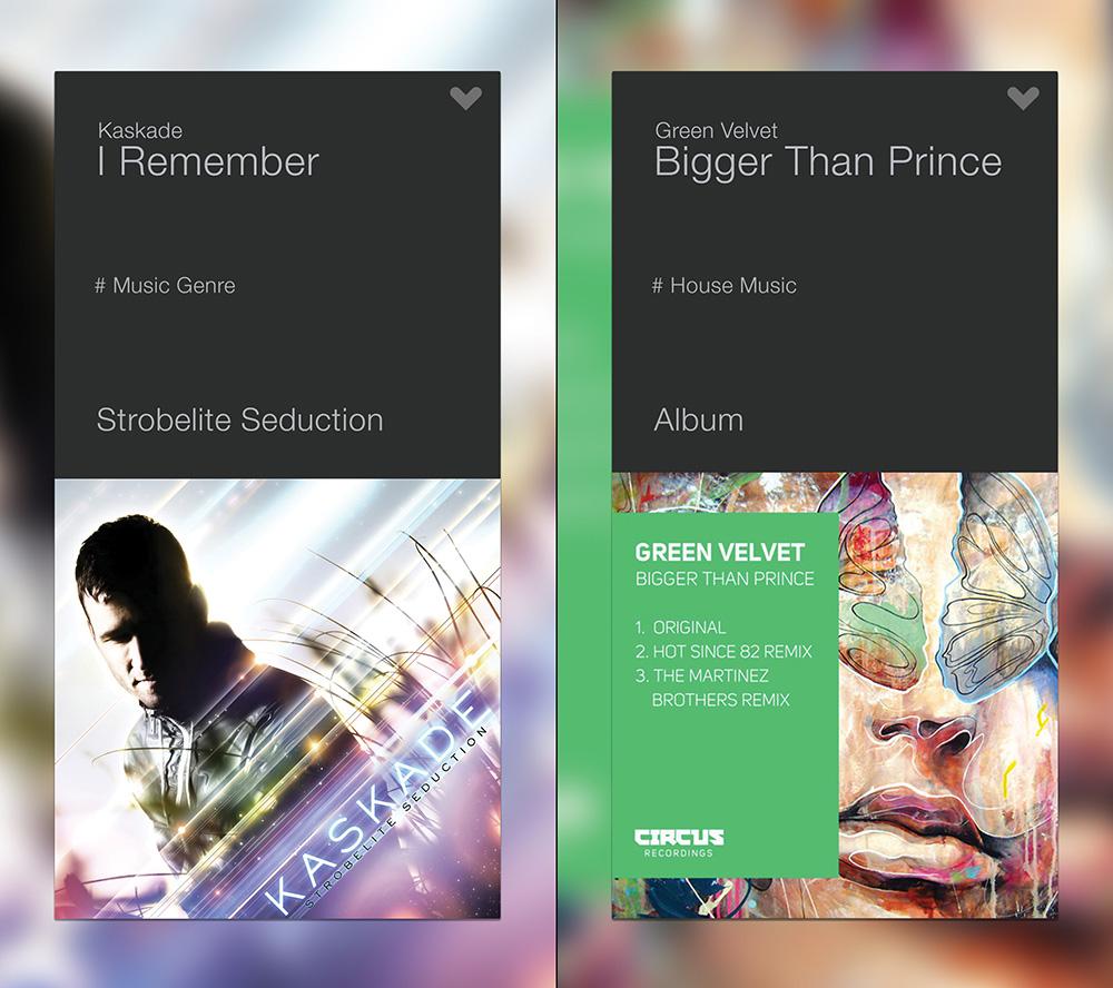 XO app album cover info