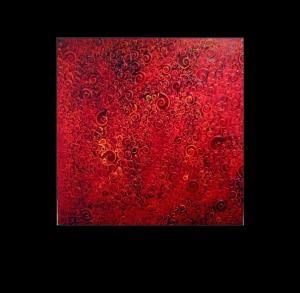 Swirls - Original artwork by Jeff Bayer Oil on Canvas