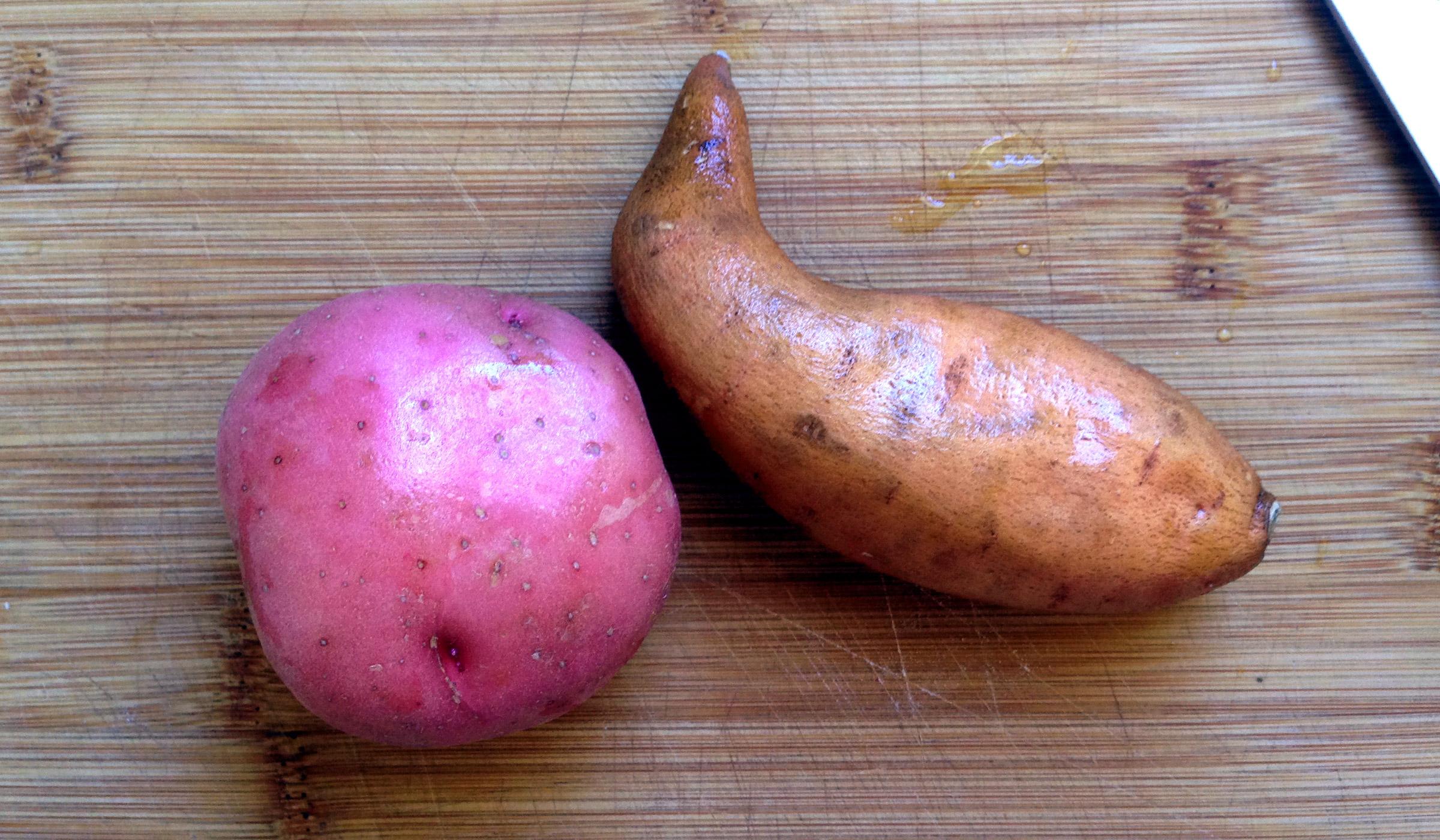 medium size potatoes