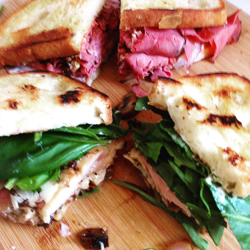 always make two sandwiches