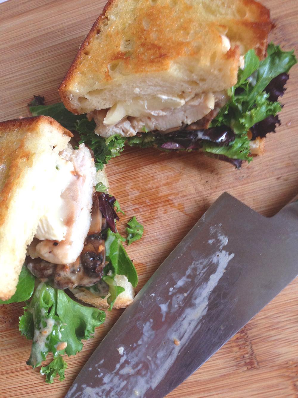 amazeballs chicken sandwich